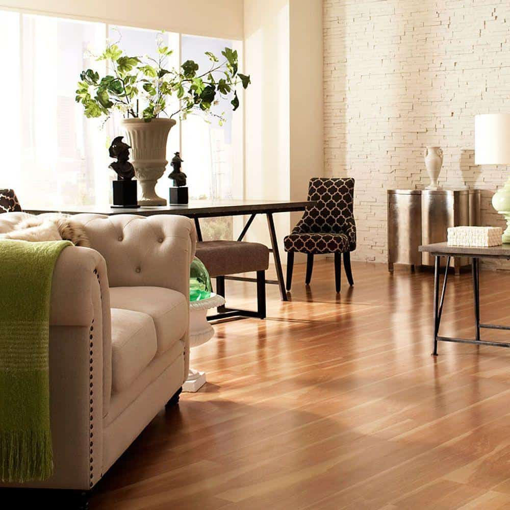 Birch style laminate floor