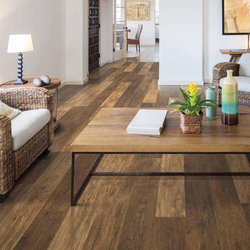 Chestnut style laminate floor example