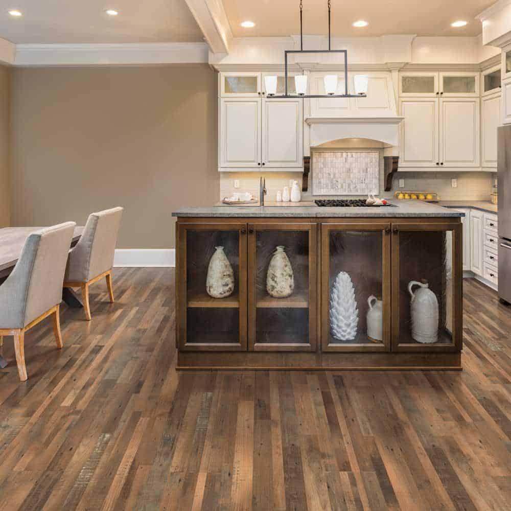 Elm style laminate floor