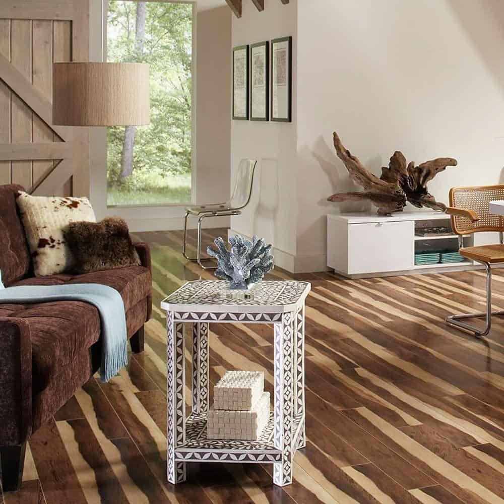 Fruitwood style laminate floor