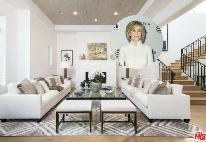 Jane Fonda's living room