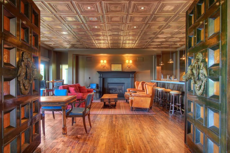 Man Cave Store Seattle : Gorgeous living rooms with hardwood floors