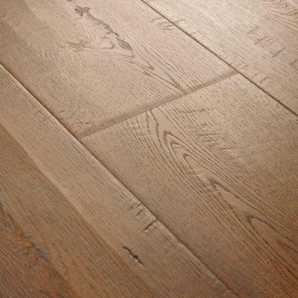 Pressed laminate floor edge type
