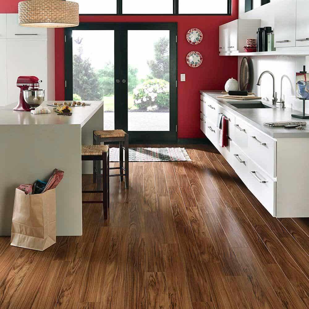 Tigerwood laminate floor example