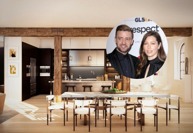 3. Justin Timberlake and Jessica Biel's Tribeca Penthouse ile ilgili görsel sonucu