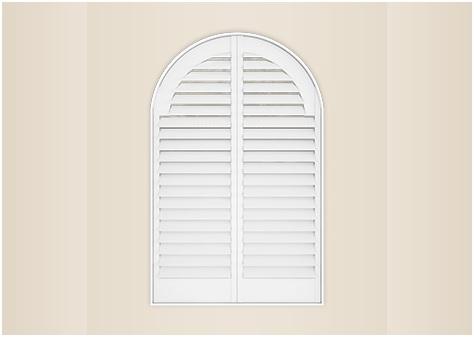 arch shape window shutter image