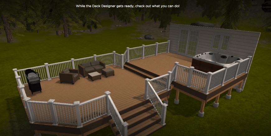 Aztek Deck Designer interface 1