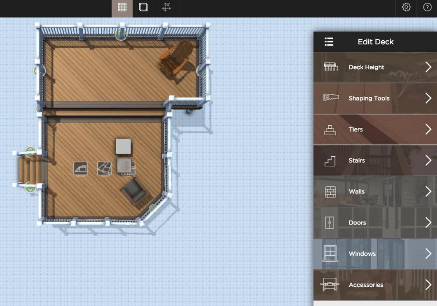 Aztek Deck Designer interface 3