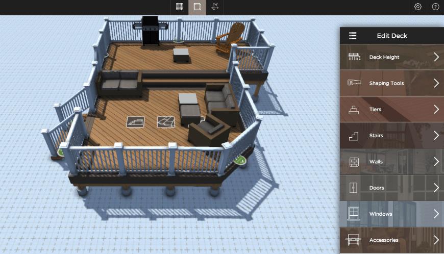 Aztek Deck Designer interface 4