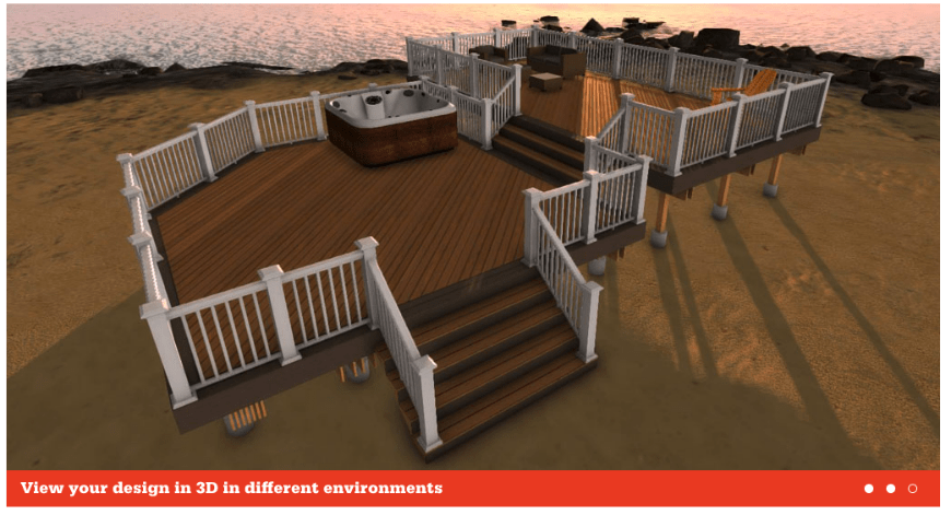 Aztek Deck Designer interface 5
