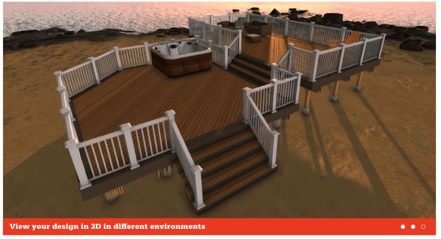 Aztek Deck Designer interface 5