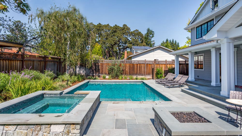 rachael rays propertys simple yet beautiful gunite pool with a patio in a separate white pool housesource zillow digs - Nice Houses With Swimming Pools