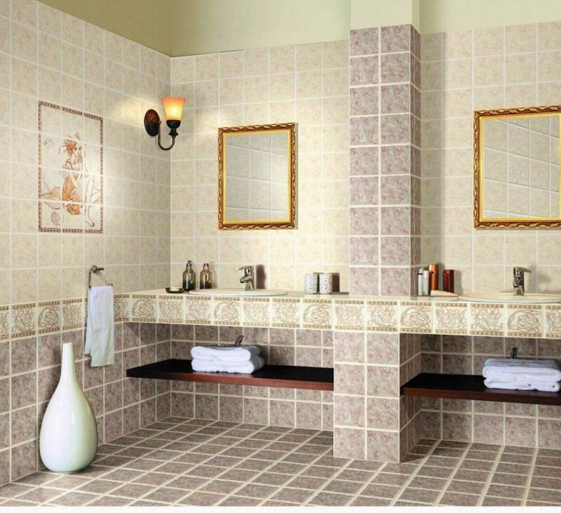 you can have the rock and wood texture which is perfect for a cozy themed bathroom others may want a pure wood texture tiles for their bathroom to achieve - Bathroom Tiles Images