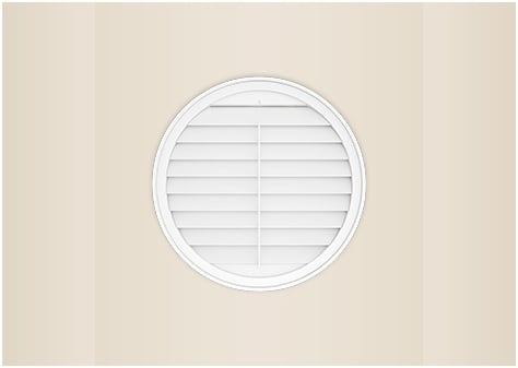 circle shape window shutter image