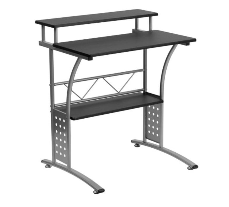Small metal computer desk 4255 l jpg mayline eastwinds Small steel desk