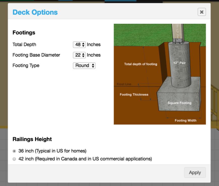 Decks.com Deck Designer interface 5