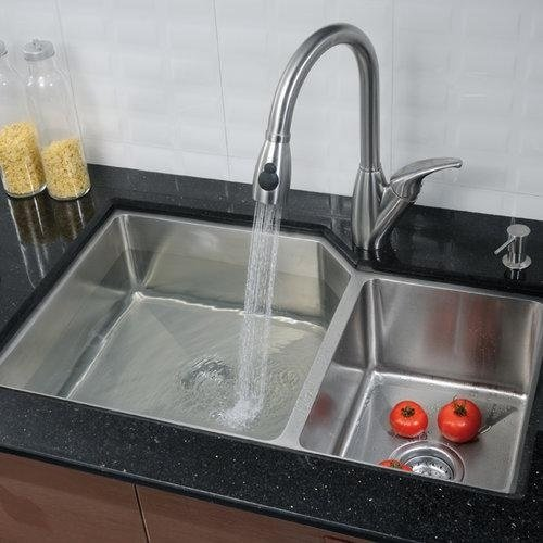 double offset kitchen sink image