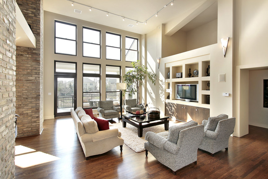 The Bright and Cheery Living Room is an epitome of lightness and cheerfulness