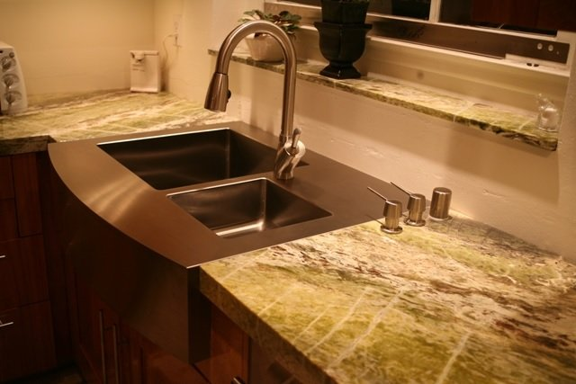 Flush Mount Kitchen Sink Image
