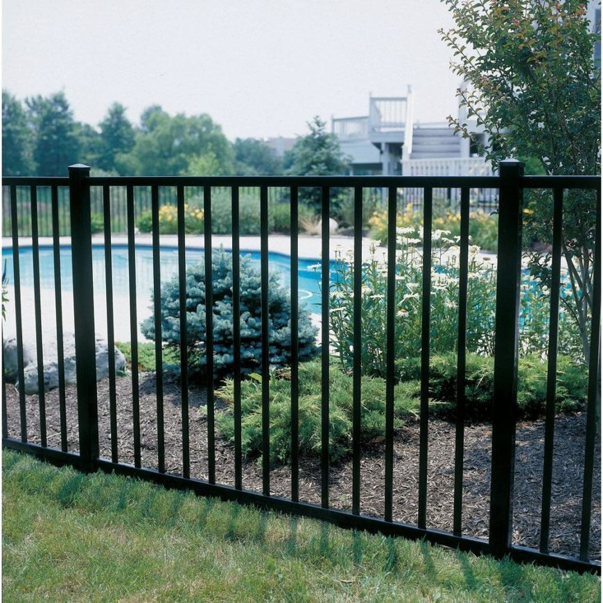 Home Depot Fencing Metal : Fence designs styles patterns tops materials and ideas