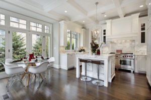 Kitchens with Coffered Ceiling