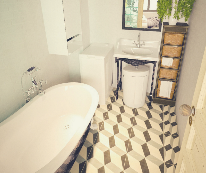 Linoleum On Bathroom Floor : The different types of bathroom floor tiles pros and cons