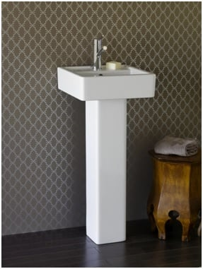 Pedestal basin image