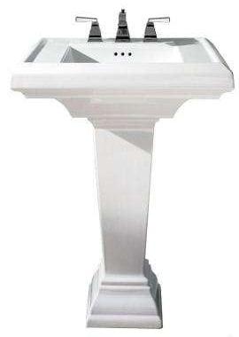 Pedestal sink image