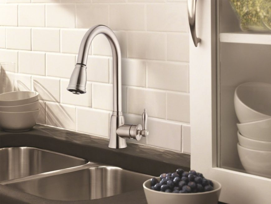 pull down kitchen faucet image