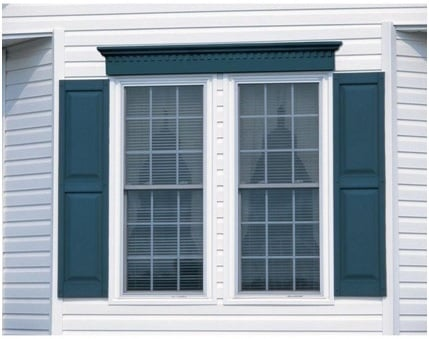 Raised Panel Window Shutter Image