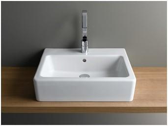 Rectangular shape basin image