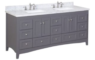 Rectangular shape vanity image