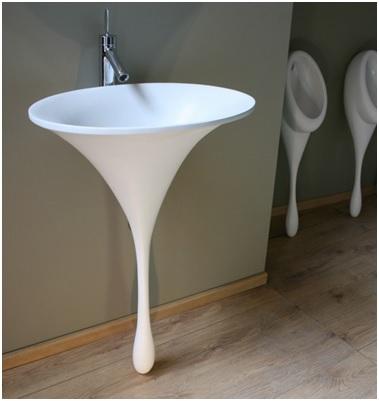 Round shape basin image