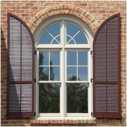 scandinavian window shutters image