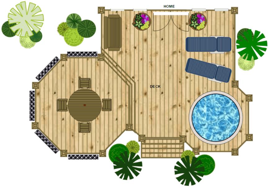 SmartDraw deck design 2