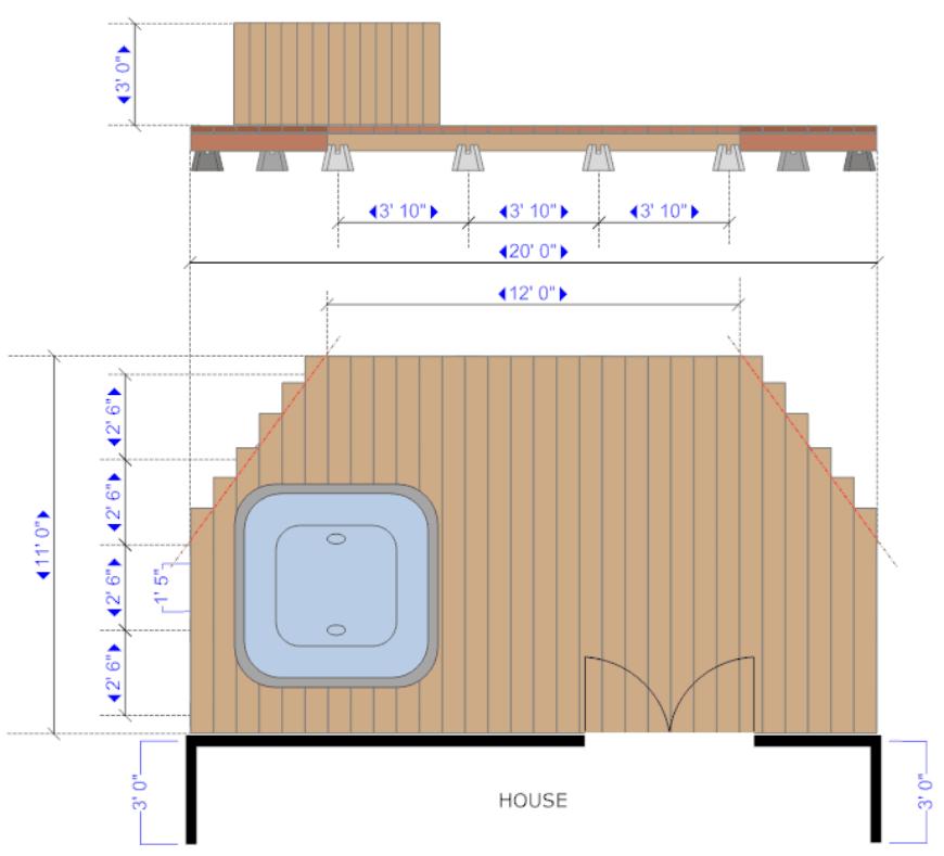 SmartDraw deck design 3
