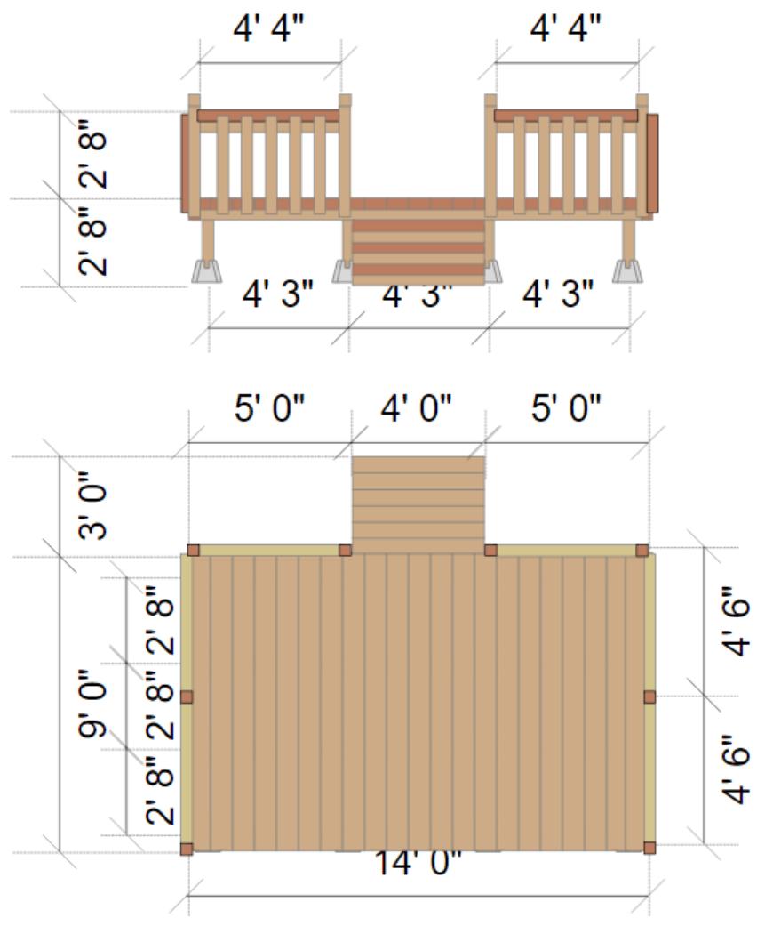SmartDraw deck design 4