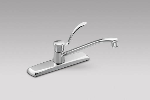 single handle kitchen faucet image