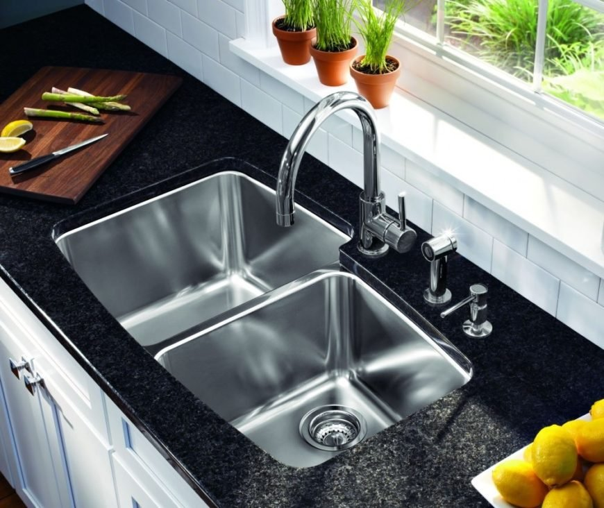 undermount kitchen sink image