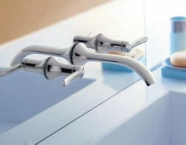 Wall mounted faucet image