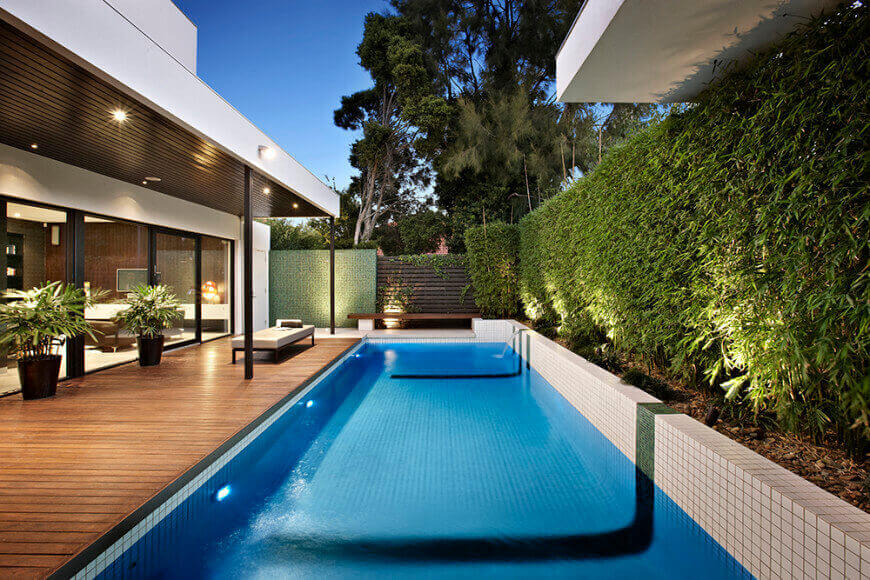 50 in ground swimming pool lighting ideas and colors - Swimming pool lighting design ...