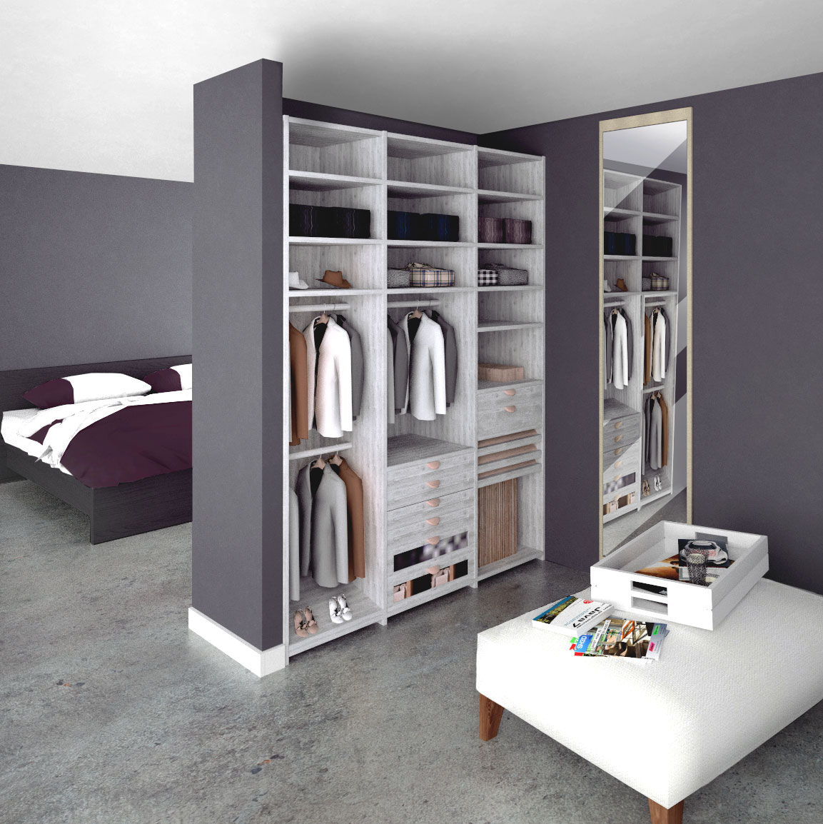 Closet Design with Space Designer 3D