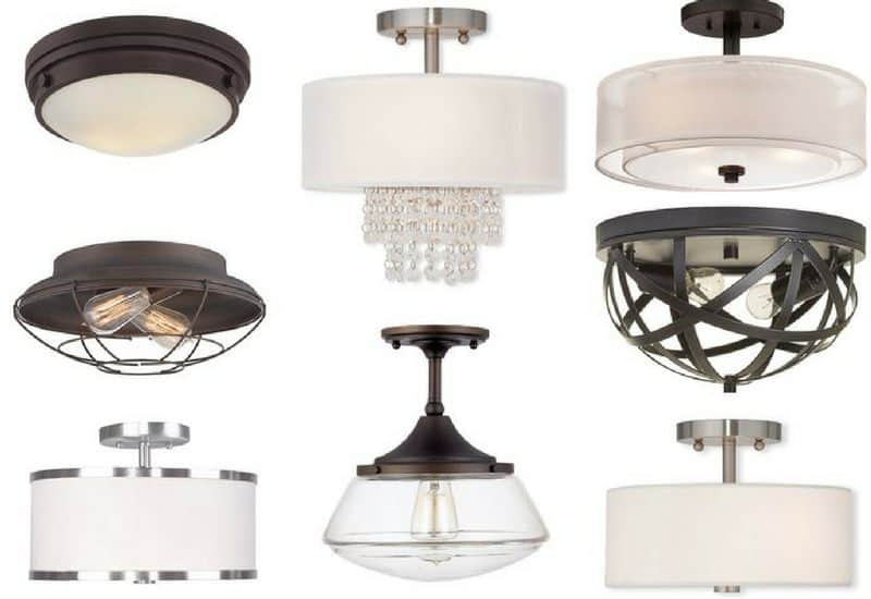The different types of flush mount ceiling lights buying guide flushmount ceiling lights collage aloadofball Gallery