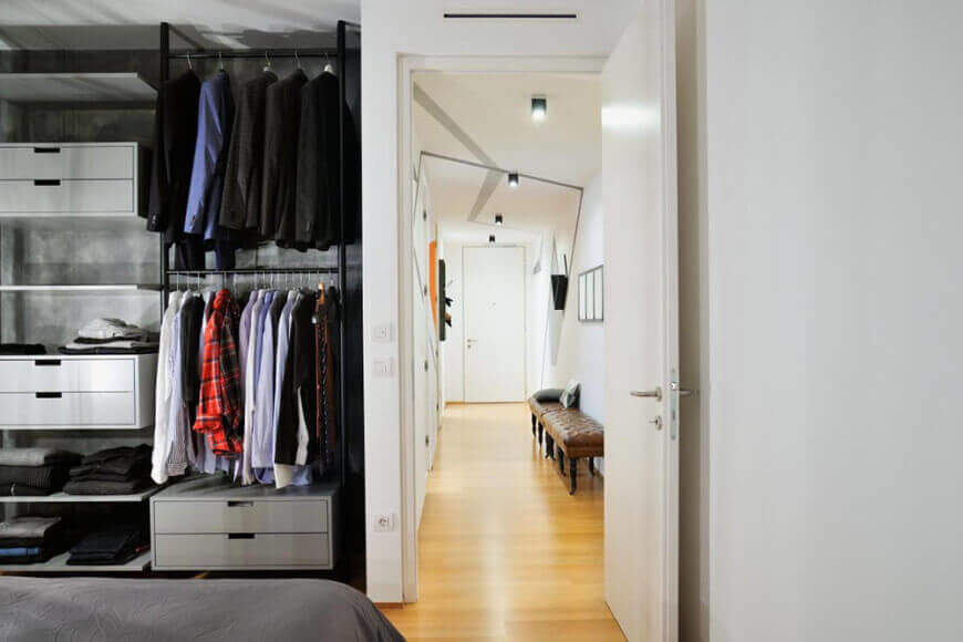 30 Custom Reach-In Closet Storage System Designs