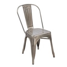 Example of industrial style chair.