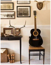 Rustic home decor elements
