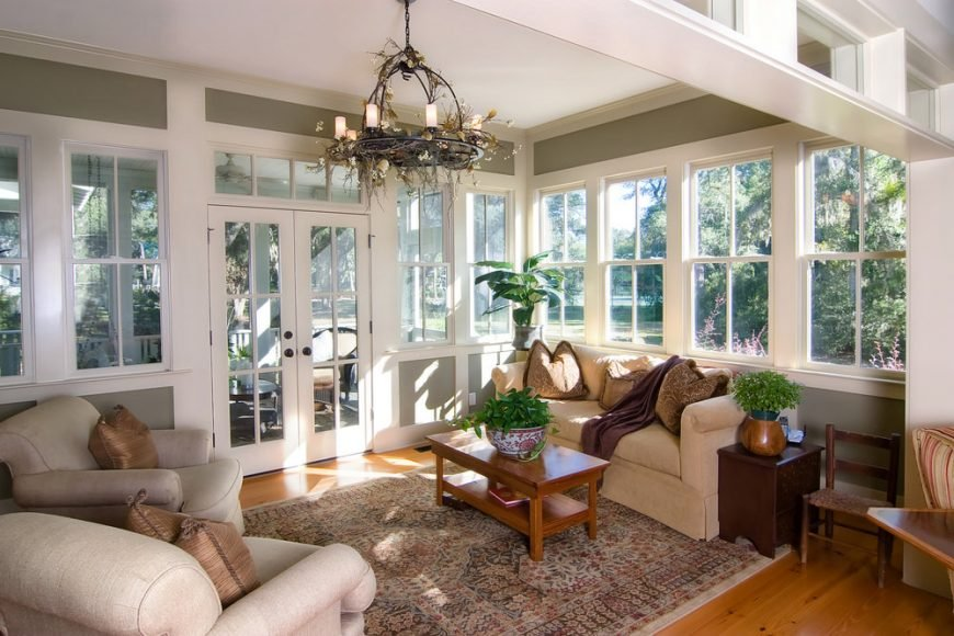 95 Sunroom Ideas - Big, Small, Budget-Friendly and More (Photos)