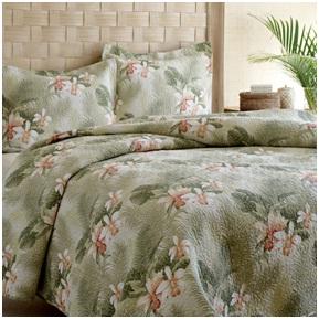 Tropical bedroom decor