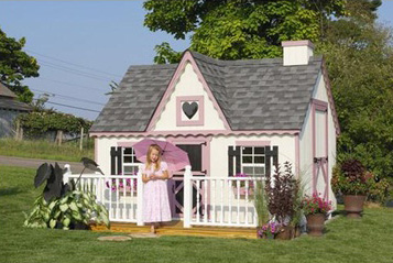 Victorian style play house