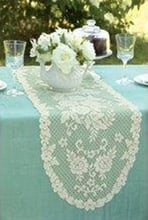 Victorian style table setting